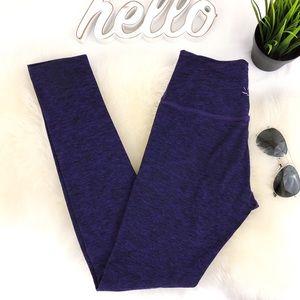 BEYOND YOGA Space Dyed Full length leggings Purple